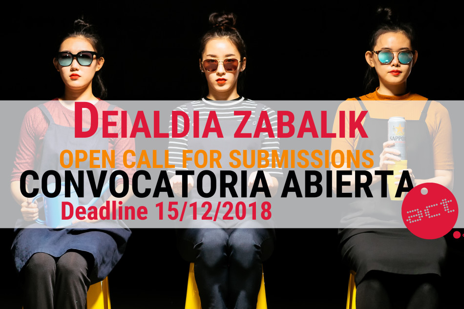 ACT 2019 Call for submissions [Itxita]