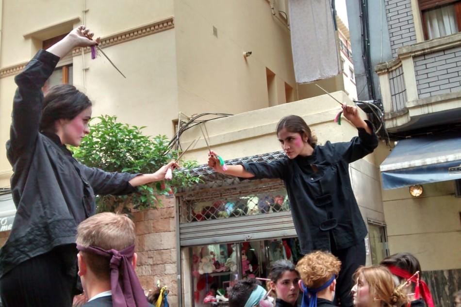 ACT Festival presenta 'Riscos', una acción de calle