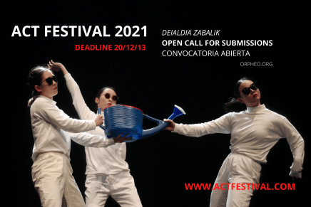 ACT 2021 Open call