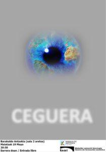 """Basado en el """"Ensayo sobre la ceguera"""" de Saramago"""