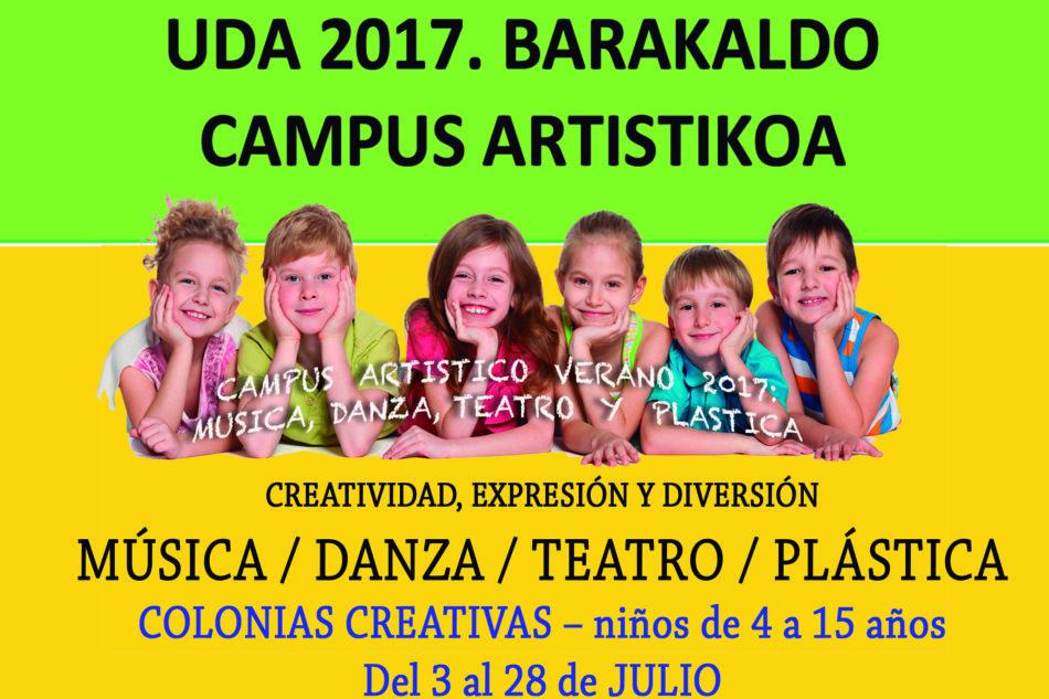 Uda 2017. Kampus artistikoa   Campus artístico. Verano  2017